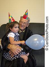 menininha, partido aniversário