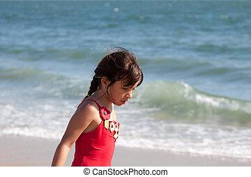 menininha, relaxante, oceânicos