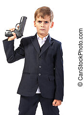 Menino, arma