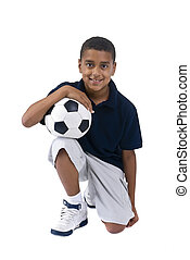 menino, futebol