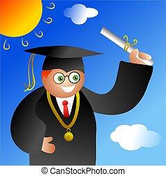 menino, graduação