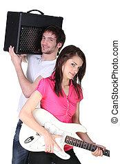 menino, menina, faixa música