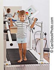 menino, treadmill