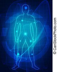 menneske krop, medicinsk, fremtid