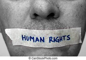 menneske ret