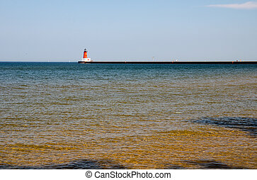 Menominee North Pier, Michigan