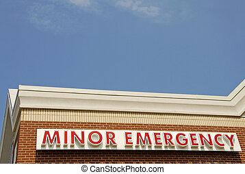 menor, emergência