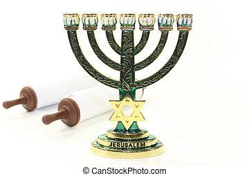 Menorah and Torah