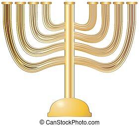 Menorah Gold