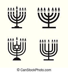 menorah icons