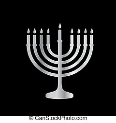 menorah, judaísmo