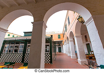 menorca, ciutadella, 市場, 中に, balearic 島