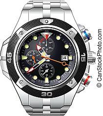 Men's Analog Dress Watch - Detailed Men's Analog Dress Watch...