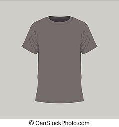 Men's black t-shirt