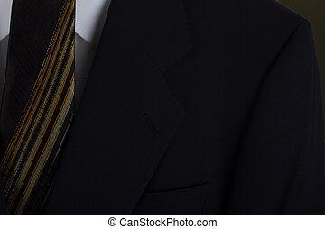 Blazer and Tie