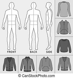 Men's clothing set