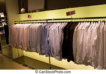 Men's Clothing Shop - Image of a men's clothing shop in...