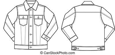boy denim jacket
