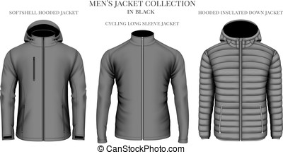 Men's jackets collection