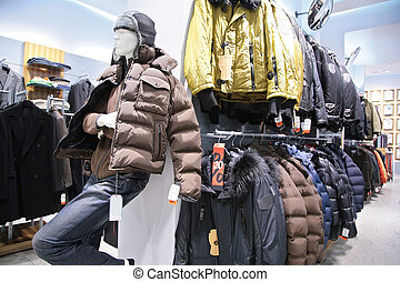 men`s jackets in shop