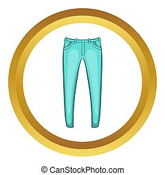 Mens jeans  icon