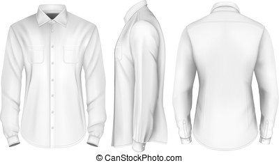 Mens long sleeved formal shirt. - Men's long sleeved shirt. ...