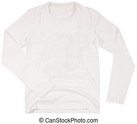 Men's shirt Isolated on white background. - Men's shirt...
