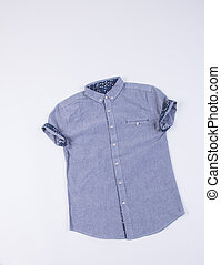 mens shirt on a background