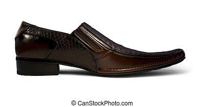 mens shoe sideways