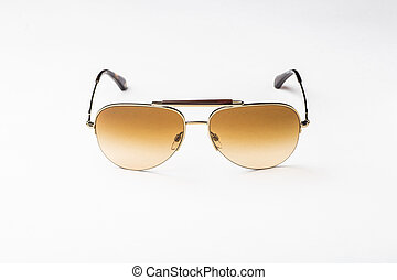 men's sunglasses isolated against a white background