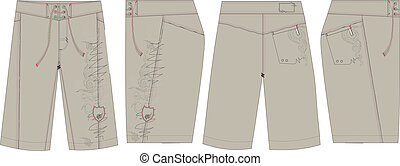 mens surf board short