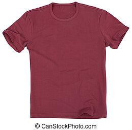 Men's t-shirt isolated on white background. - Men's t-shirt...