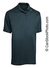 Men's t-shirt isolated on white background