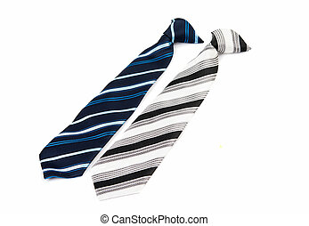 men's tie isolated
