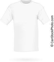 men's white short sleeve t-shirt de