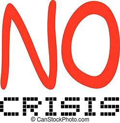 mensagem, crise, não