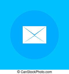 mensagem, envelope