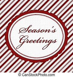 mensagem, season's, saudações