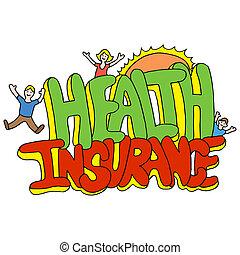 mensagem, seguro saúde