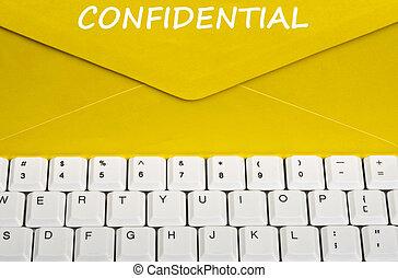 mensaje, confidencial