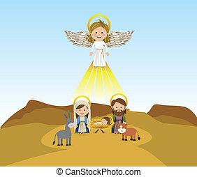 mensajero, ángel