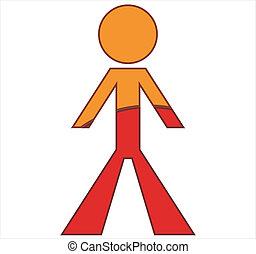 menschliche figur