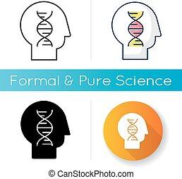 menschliche , ikone, biologie
