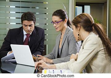 mensen op het werk