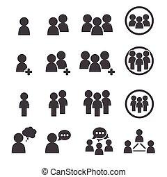 mensen, pictogram