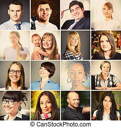 mensen, portretten