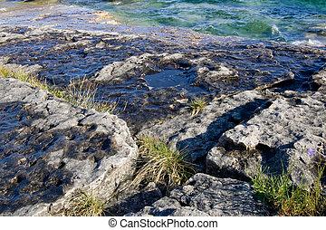mensola, costiero, roccia