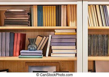 mensola, libri