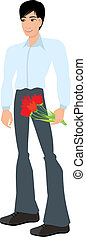 menstruáció, fiatalember
