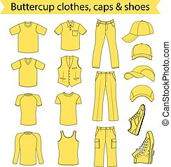menswear, kłobuk, obuwie, &